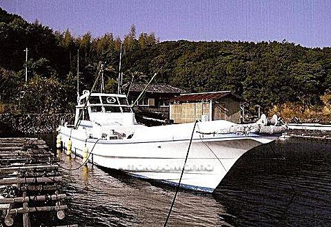筒井ボート 38尺