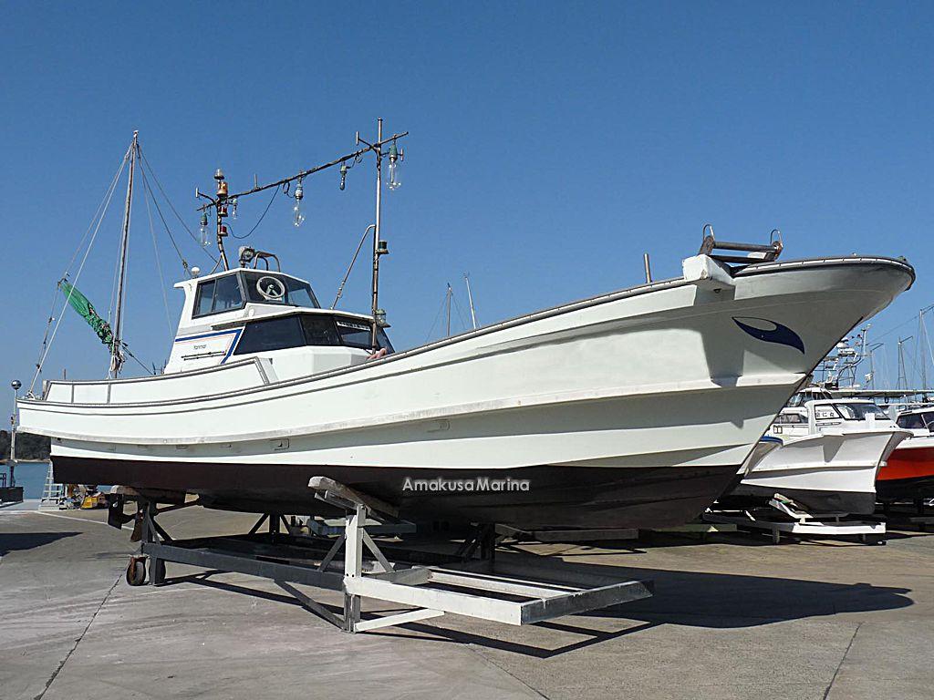 Used boat information amakusa marina co for Used fishing boat