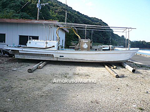 堀田SY 真珠作業船