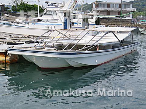 ヤマハ W-33BF 海苔作業 (スラスター 前・後)