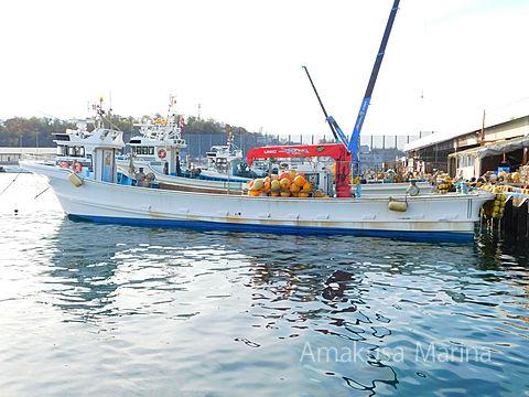 北海SY クレーン付作業船 55