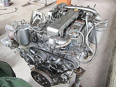 ディーゼル中古エンジン 135PS