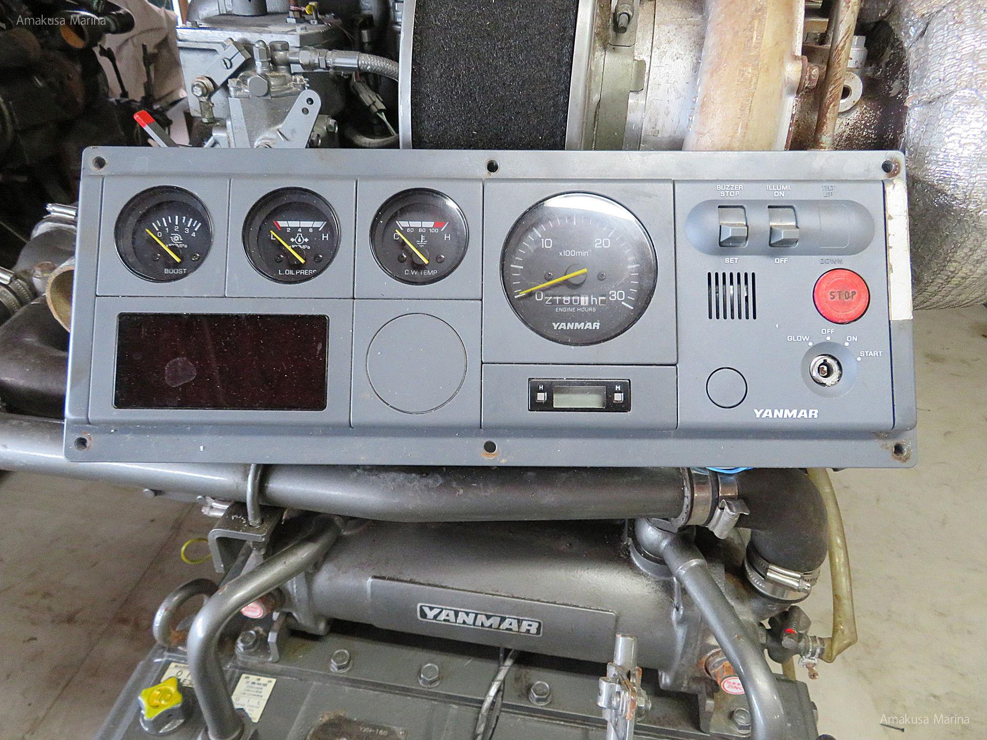 YANMAR 6KXZS-WGT 808PS | Amakusa Marina & Co