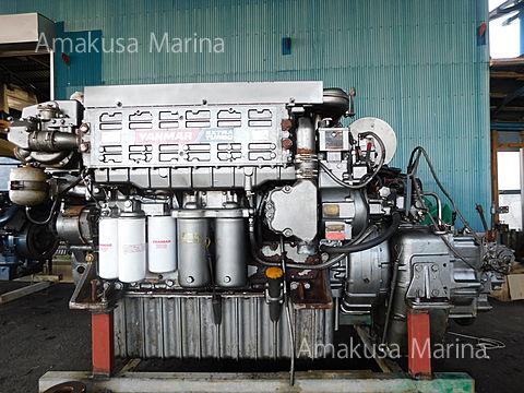 ヤンマー 6KXA-ET 630ps (2.46)
