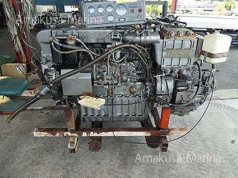 ヤンマー 6CA-GT 400ps (2.50) 2800時間