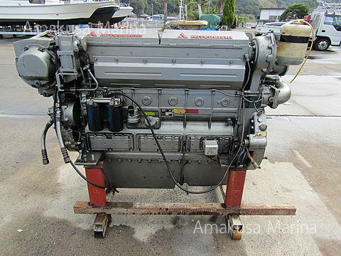 三菱 S6D-MTKL 615ps (ギアレス)