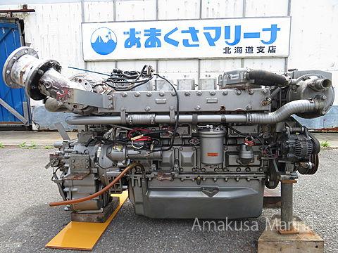 三菱 S6M4-MTKL (2.96)530PS