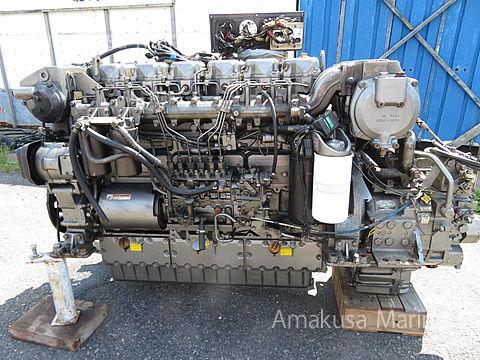 ヤンマー 6CZAS-GT 2.57 630ps