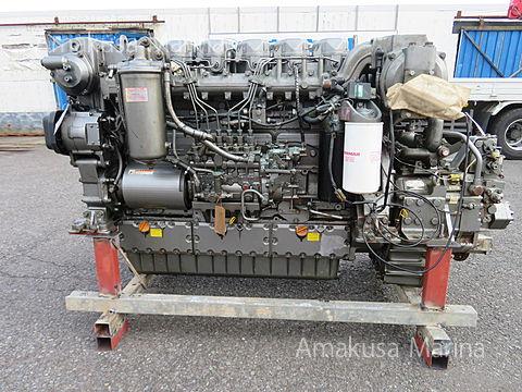 ヤンマー 6CZAS-GT 630PS 3.04