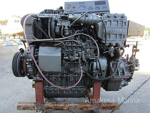 ヤンマー 4CX-GT 2.96 280ps