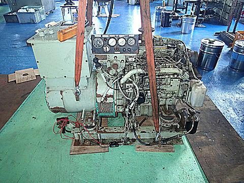 補機 発電機 15KVA (1800時間)
