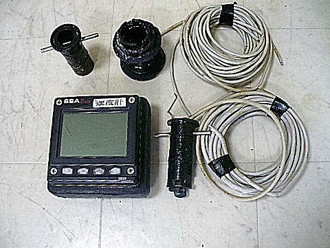 デジタル対水速度計