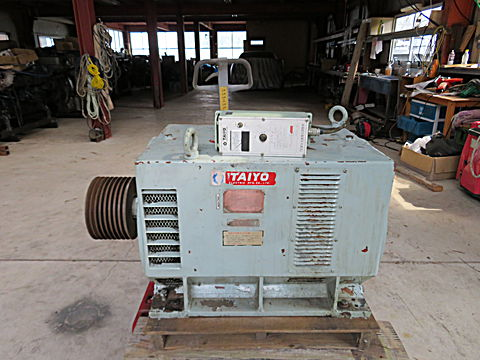 タイヨー ブラシレス発電機 100KVA