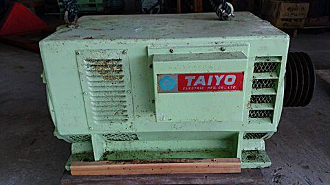 タイヨー ブラシレス 発電機 30KVA