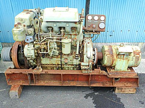 国産電機発電機 7.5KVA
