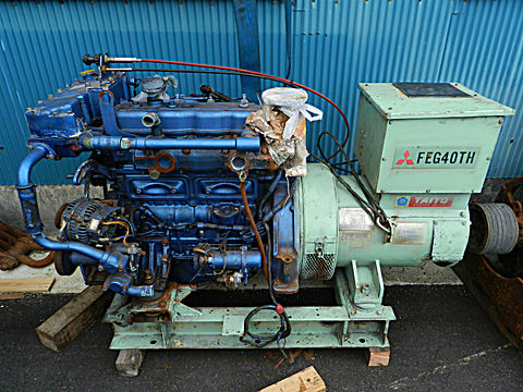 タイヨー 発電機 40KVA (isuzu 4BD1)