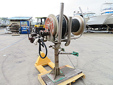 油圧式 巻き揚げWローラー