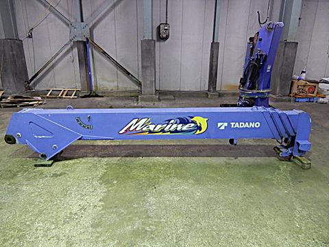 TADANO 4段マリンクレーン ZR504MR