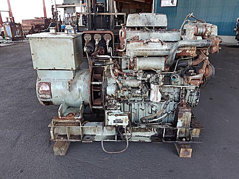 ヤンマー 40KVA 発電機 (4CH)