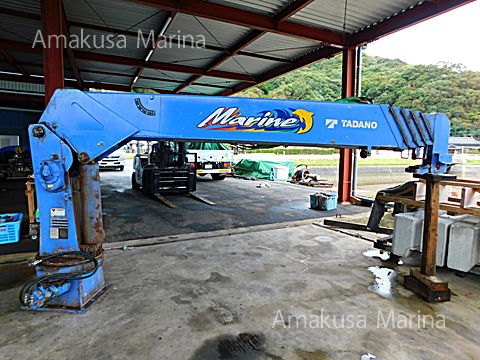 タダノ 5段マリンクレーン ZR505MR