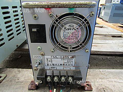 富士電球 集魚灯安定器 FML-030N 3kw