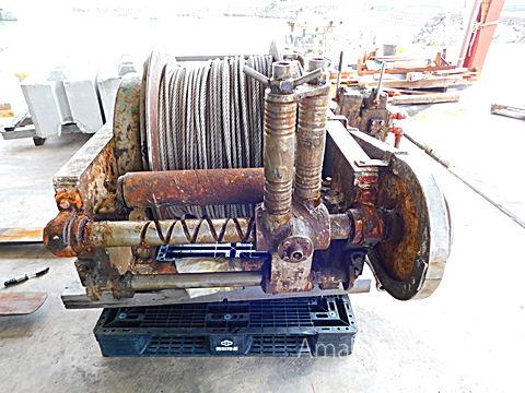 日本工作所 油圧式 ウインチ (パース)