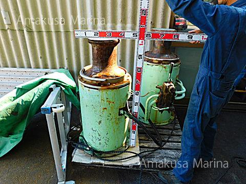 油圧大型キャプスタン