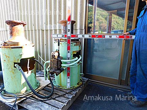 油圧大型キャプスタン(切換え弁付き)