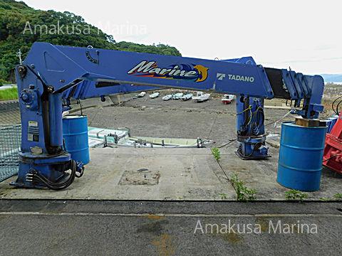 タダノ 五段マリンクレーンZR505MR