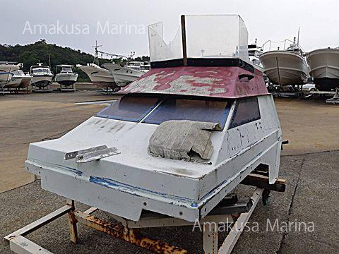 ヤマハ漁船 キャビン