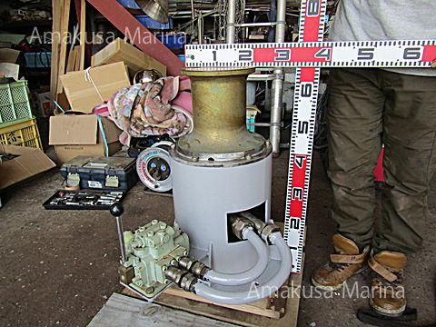 油圧キャプスタン (切替弁付き)