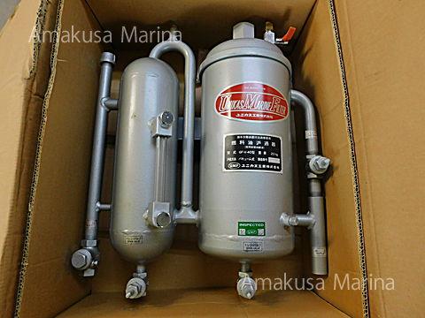 ユニカス 燃料油フィルター GF-V-40