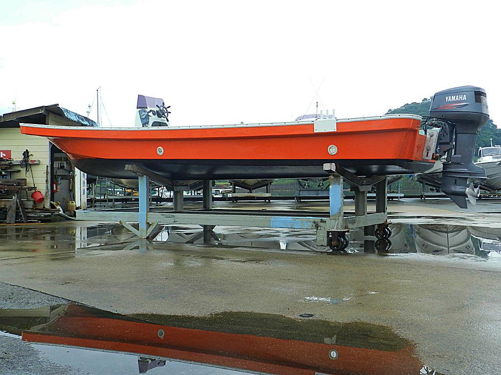 W−25CF グラスボート改造