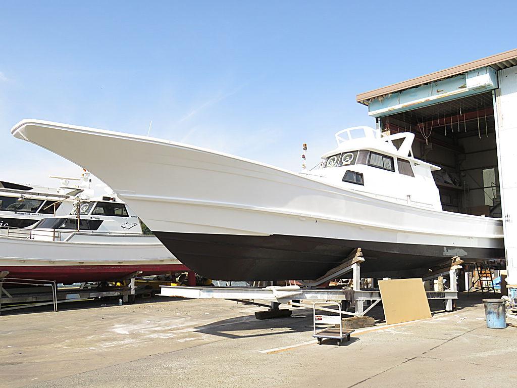 石原造船 53V 遊漁船仕様 レストア工事
