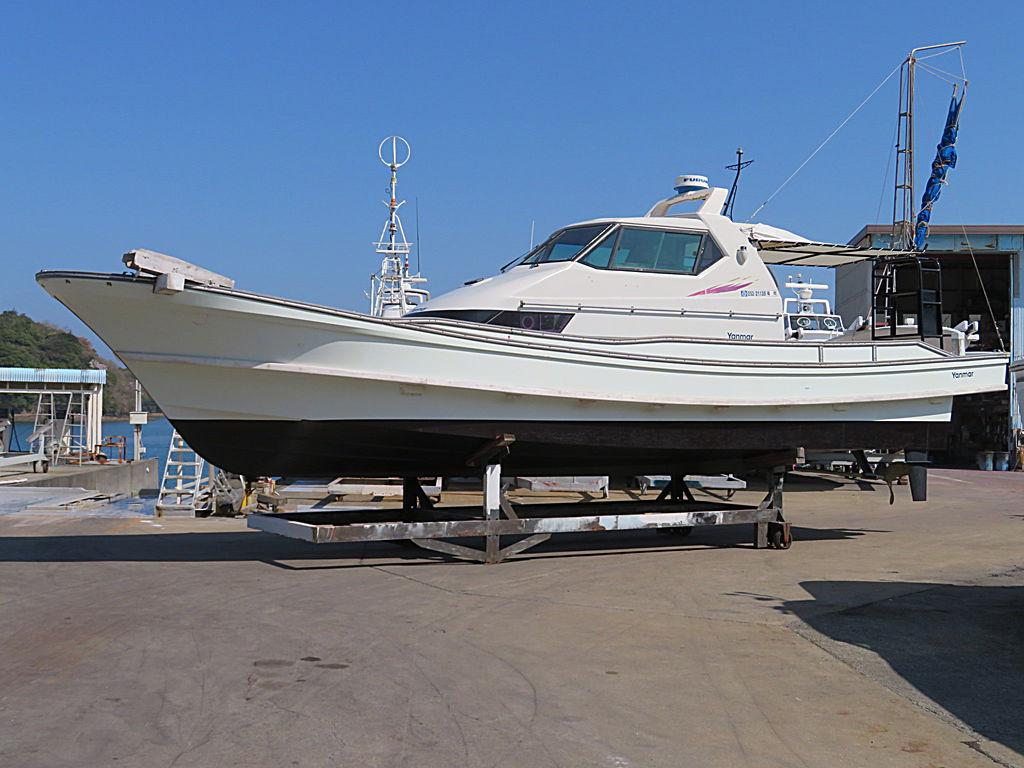 ヤンマー DE39(釣り師) エンジン換装工事
